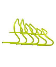 GSI 6 9 and 12 inch Agility Hurdles set of 6 - Yellow