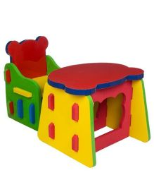 Cutez Desk & Chair - Multi Color
