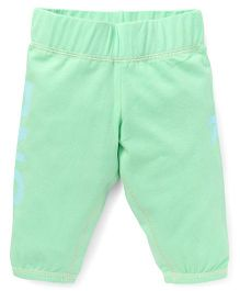 Button Noses Capri Tree Print - Sea Green