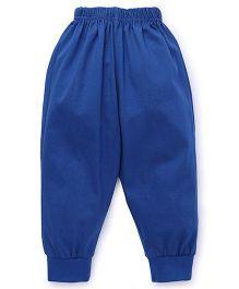 Fido Full Length Plain Track Pant - Royal Blue