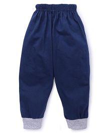Fido Full Length Plain Track Pant - Blue