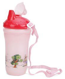 Spout Water Bottle - Pink