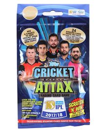 Topps Cricket Attax Card Game IPL 2017 - 18 - Multipack