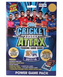 Topps Cricket Attax IPL 2017 - 18 Power Game Pack