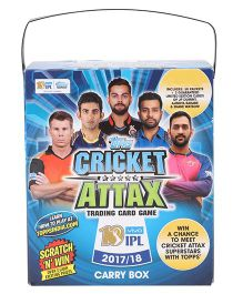 Topps Cricket Attax Trading Card Game IPL 2017 - 18 Carry Box