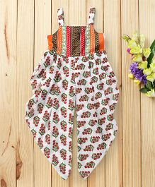 Twisha Printed Gorgeous Jumpsuit - Multicolour