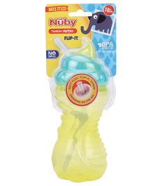 Nuby Toddler Sipeez Flip It Yellow - 420 ml