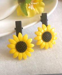 Treasure Trove Sunflower Tic Tac Clip - Yellow