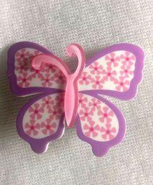 Treasure Trove Butterfly Tic-Tac Clip - Purple