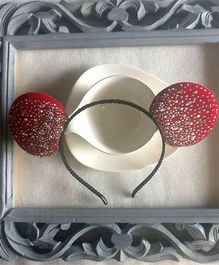 Treasure Trove Mouse Ear Hair Band - Red