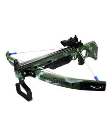 Emob Large Size Real Crossbow Action Military Toy Set - Green
