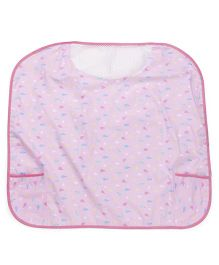 Owen Nursing Bib - Blue