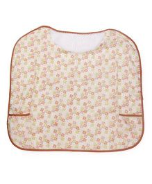 Owen Nursing Bib - Cream