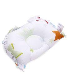Owen Semi Circular Pillow - White