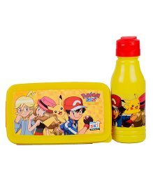 Pokemon Back To School Lunchbox Set - Yellow