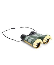 Wild Republic Beastly Crocodile Binoculars - Dark Green