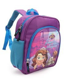 Disney Sofia The First School Bags Purple Blue - 12 inch
