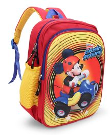 Disney Mickey Mouse & Friends School Bag Red Yellow - 12 inch