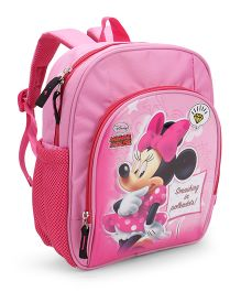 Disney Minnie Mouse School Bag Pink - 12 Inches