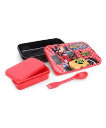 Disney Mickey Mouse & Friends Lunch Box - Red Black