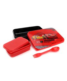 Disney Pixar Cars Lunch Box - Red Black