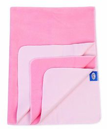 Little's Easy Dry Bed Protector - Pink