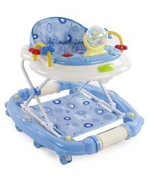 Musical Musical Baby Walker With Play Tray - Blue