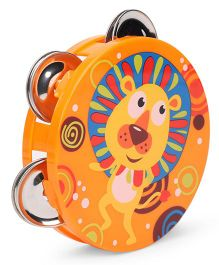 Sunny Orff Music Set Tambourine Rattle - Orange