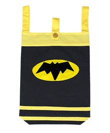 Kadambaby Laundry Bag Batman Design - Yellow Black