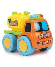 Baby Water Truck Toy - Orange Yellow