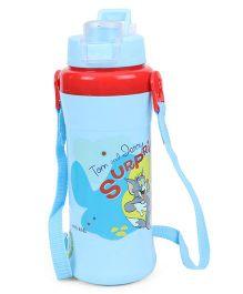 Tom & Jerry Water Bottle Sky Blue - 480 ml