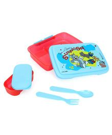 Tom And Jerry Lunch Box - Blue Red