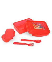 Tom & Jerry Lunch Box Set - Red