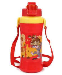Tom & Jerry Water Bottle Red Yellow - 480 ml