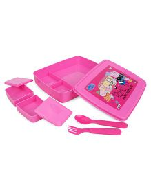 Peppa Pig Printed Lunch Box - Pink