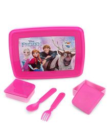 Disney Frozen Lunch Box - Pink