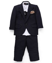 Robo Fry Party Suit With Tie - Blue