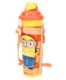 Minions Dork Water Bottle Orange - 750 ml