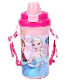 Disney Frozen Follow Ur Heart Pink Water Bottle - 500 ml