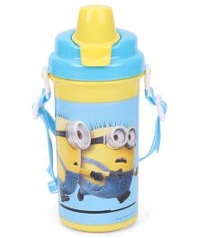 Minions Equals To Chaos Water Bottle Yellow - 500 ml