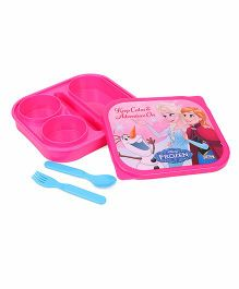Disney Frozen Mega Lunch Box - Pink
