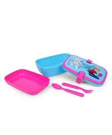 Disney Frozen Beautiful Sisters Lunch Box With Handle - Pink