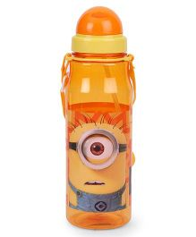 Minions Geek Water Bottle Orange - 640 ml