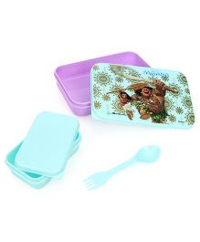 Disney Moana Lunch Box - Purple & Blue