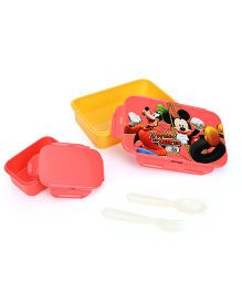 Disney Mickey Mouse & Friends Lunch Box - Orange Red