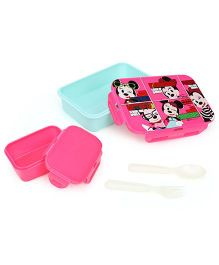 Disney Minnie Mouse Lunch Box - Pink Green