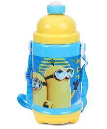 Minions Cooler Water Bottle Yellow - 480 ml