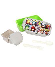 Marvel Avengers Lunch Box - Green & White