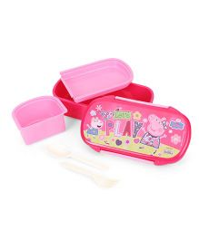 Peppa Pig Lets Play Lunch Box - Pink