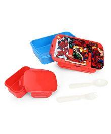Marvel Spider Man Lunch Box - Red & Blue